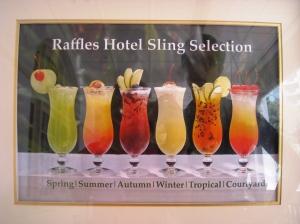 De olika typerna av Singapore Sling