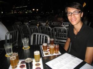 Öltest på Brewerkz