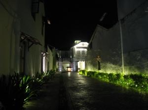 Uppfarten från gatan Lebuh Chulia