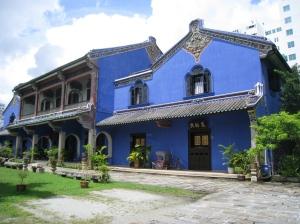 Huset sett från den västra porten