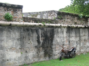 Muren till Fort Cornwallis