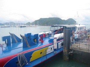 Framme vid Langkawi Jetty Point