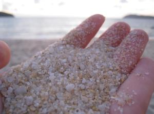 Finare och renare sand