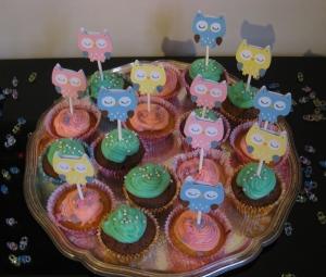 Cupcake toppers från säljaren armywife711