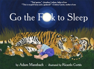 "Boken ""Go the Fuck to Sleep"""