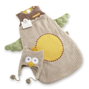 "Baby Aspen ""My Little Night Owl Snuggle Sack and Cap"""
