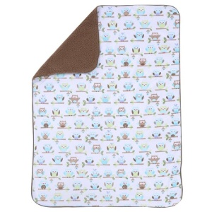 "Just Born ""Babywise Baby Crib Collection - Cozy Blanket"""