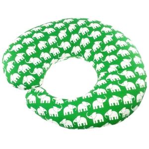 """Rätt Start amningskudde """"Elefant grön"""""""