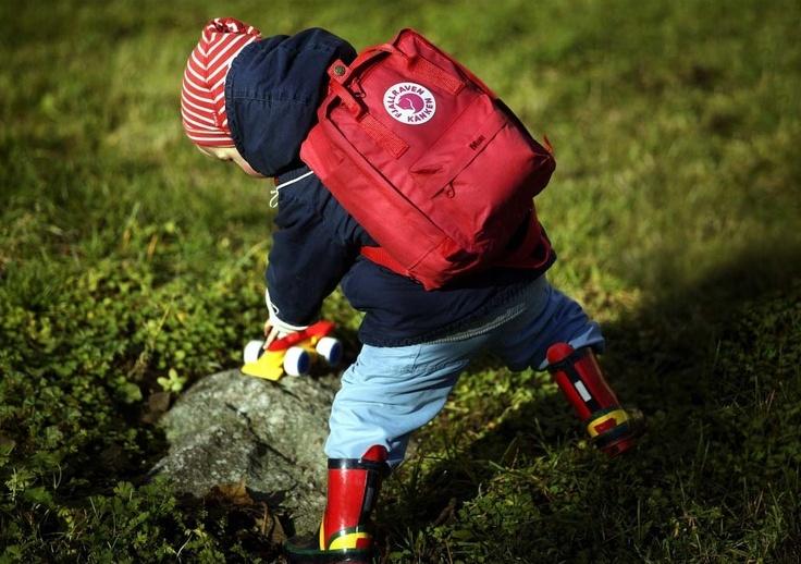 fjällräven ryggsäck barn rosa